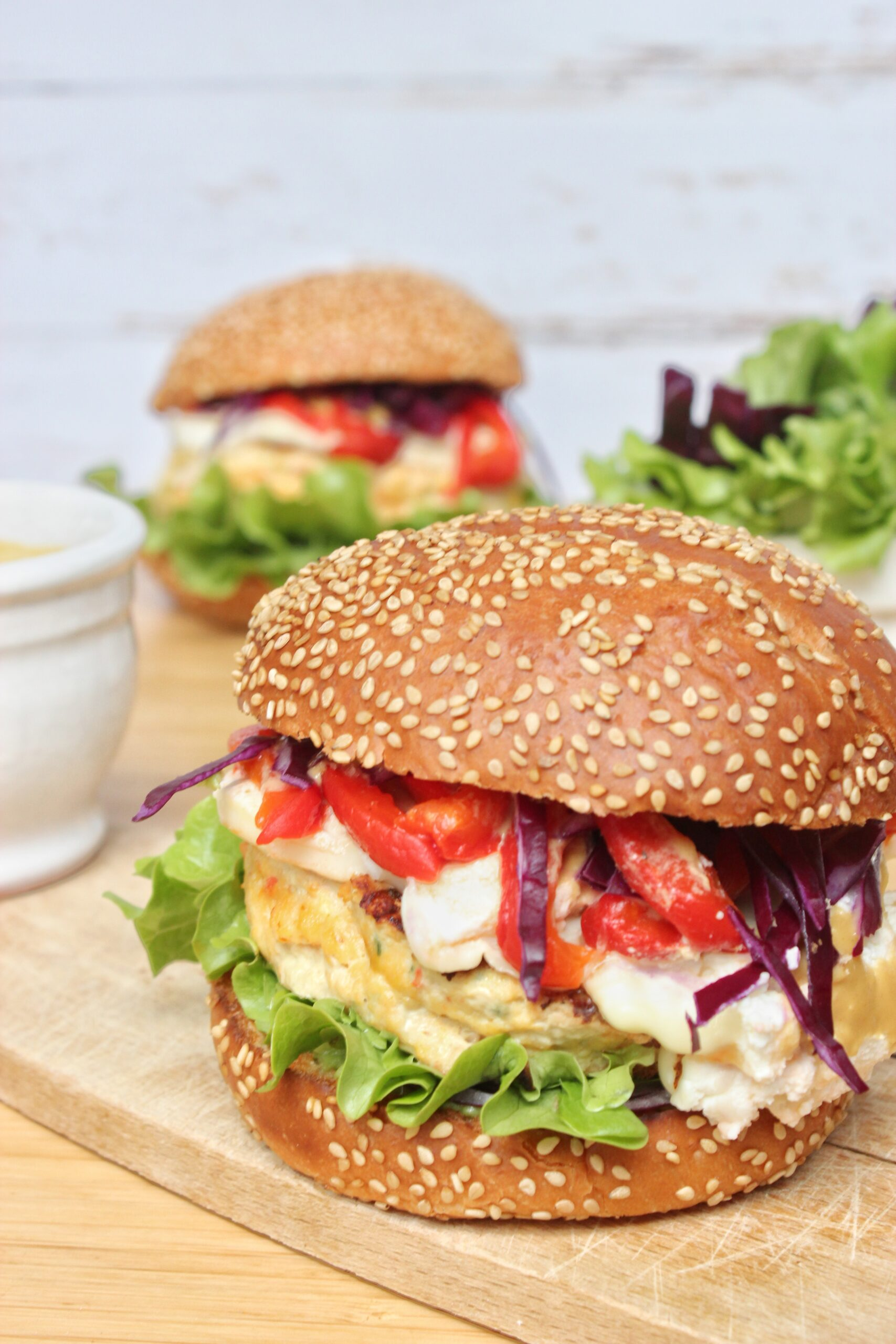 Recette Burger au poulet - Workeatout le blog de recettes ...