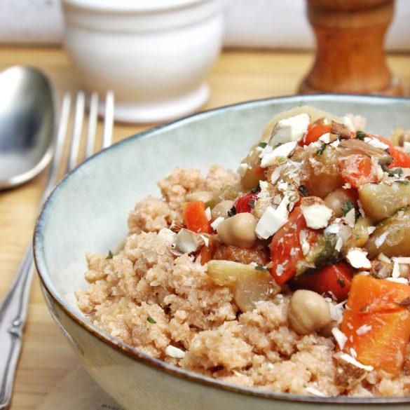 Couscous vegan sans gluten